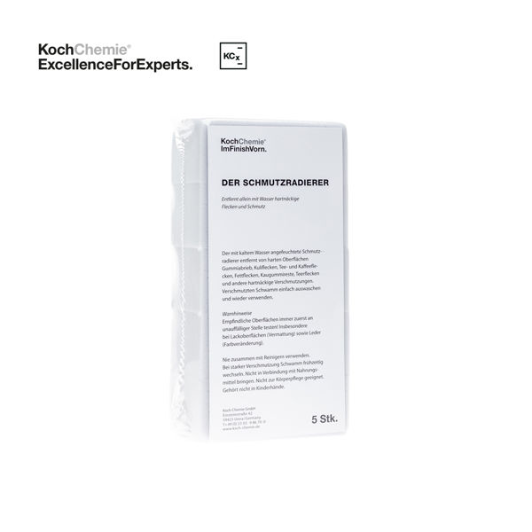 Mynd Svampur - Dirt Eraser - 5 stk